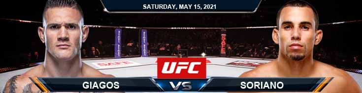 UFC 262 Giagos vs Soriano 05-15-2021 Picks Predictions and Previews