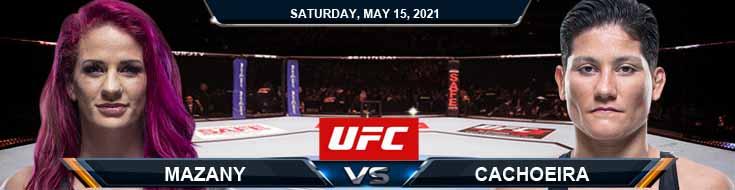 UFC 262 Mazany vs Cachoeira 05-15-2021 Analysis Odds and Picks