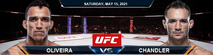 UFC 262 Oliveira vs Chandler 05-15-2021 Odds Picks and Predictions