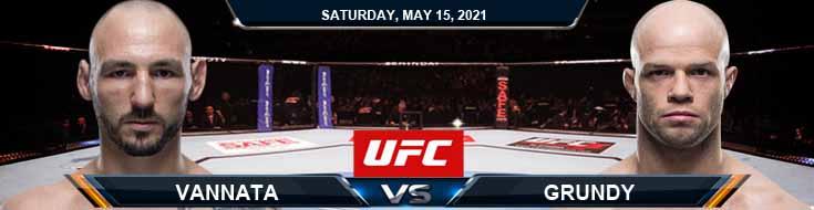 UFC 262 Vannata vs Grundy 05-15-2021 Tips Results and Analysis