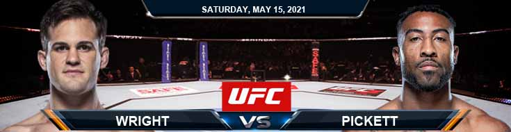 UFC 262 Wright vs Pickett 05-15-2021 Results Analysis and Odds