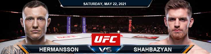 UFC Fight Night 188 Hermansson vs Shahbazyan 05-22-2021 Tips Results and Analysis