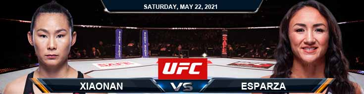 UFC Fight Night 188 Xiaonan vs Esparza 05-22-2021 Previews Spread and Fight Analysis