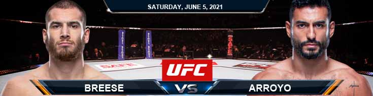 UFC Fight Night 189 Breese vs Arroyo 06-05-2021 Spread Fight Analysis and Forecast