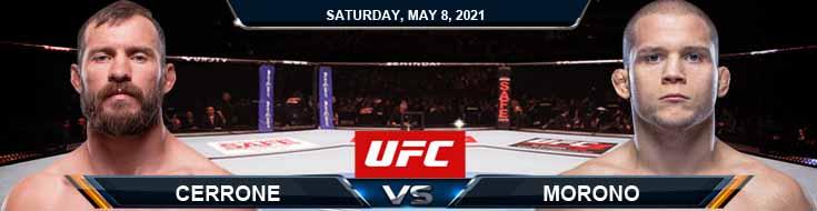 UFC on ESPN 24 Cerrone vs Morono 05-08-2021 Picks Predictions and Previews