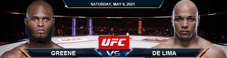 UFC on ESPN 24 Greene vs de Lima 05-08-2021 Results Analysis and Odds