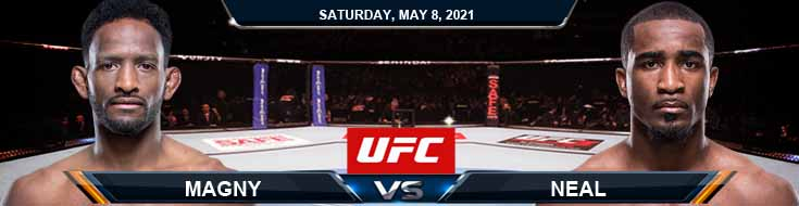 UFC on ESPN 24 Magny vs Neal 05-08-2021 Picks Fight Predictions and Previews