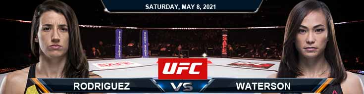 UFC on ESPN 24 Rodriguez vs Waterson 05-08-2021 Odds Fight Picks and Predictions