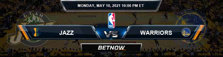 Utah Jazz vs Golden State Warriors 5-10-2021 NBA Spread and Picks
