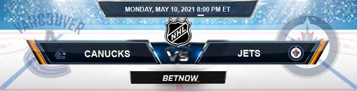 Vancouver Canucks vs Winnipeg Jets 05-10-2021 Hockey Betting Tips & Predictions