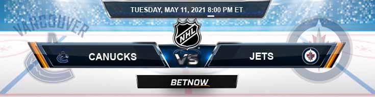 Vancouver Canucks vs Winnipeg Jets 05-11-2021 Spread Picks & Hockey Betting