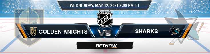 Vegas Golden Knights vs San Jose Sharks 05-12-2021 NHL Spread Odds & Results