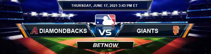 Arizona Diamondbacks vs San Francisco Giants 06-17-2021 Baseball Forecast Analysis and Betting Results