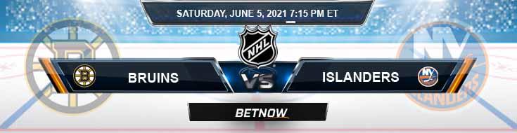 Boston Bruins vs New York Islanders 06-05-2021 NHL Game Analysis Spread & Odds