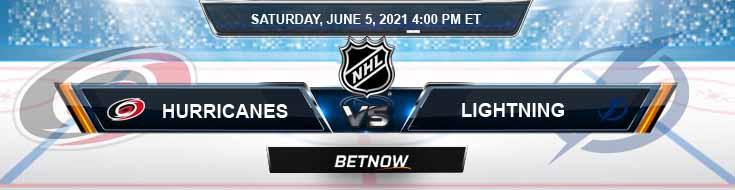 Carolina Hurricanes vs Tampa Bay Lightning 06-05-2021 NHL Results Picks & Previews