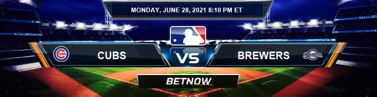 Chicago Cubs vs Milwaukee Brewers 06-28-2021 Odds Picks and Predictions