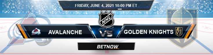 Colorado Avalanche vs Vegas Golden Knights 06-04-2021 Forecast Hockey Betting & Odds