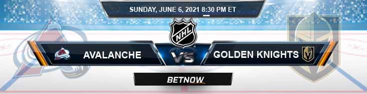 Colorado Avalanche vs Vegas Golden Knights 06-06-2021 Hockey Betting Previews & Picks