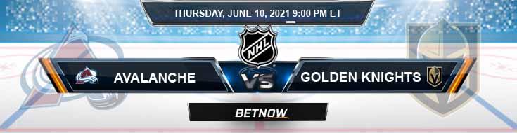 Colorado Avalanche vs Vegas Golden Knights 06-10-2021 Forecast Hockey Betting & Odds