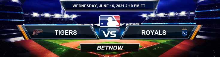 Detroit Tigers vs Kansas City Royals 06-16-2021 Analysis Baseball Results and Odds