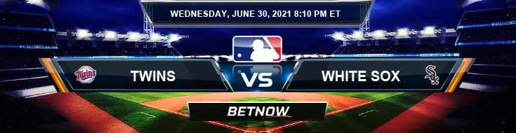 Minnesota Twins vs Chicago White Sox 06-30-2021 Tips Forecast and Baseball Betting