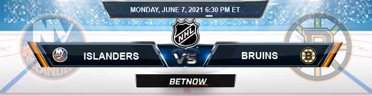 New York Islanders vs Boston Bruins 06-07-2021 NHL Game Analysis Odds & Spread