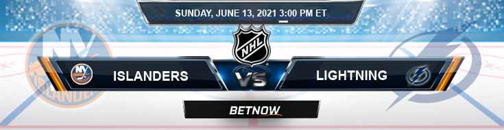 New York Islanders vs Tampa Bay Lightning 06-13-2021 NHL Spread Picks & Tips