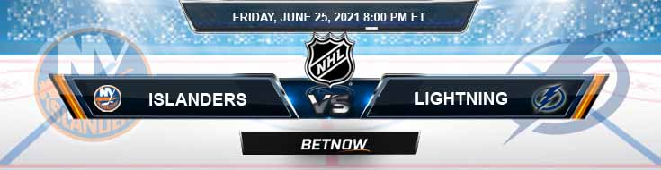 New York Islanders vs Tampa Bay Lightning 06-25-2021 Betting Tips Odds and NHL Predictions