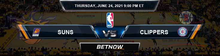 Phoenix Suns vs Los Angeles Clippers 6-24-2021 Odds Picks and Previews