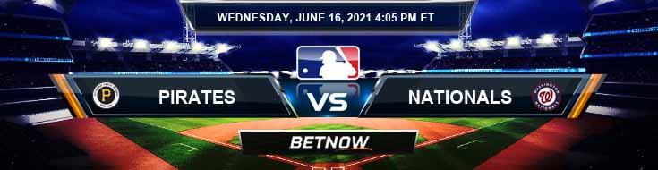 Pittsburgh Pirates vs Washington Nationals 06-16-2021 Forecast Baseball Betting and Analysis