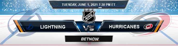 Tampa Bay Lightning vs Carolina Hurricanes 06-01-2021 Hockey Betting Picks & Tips
