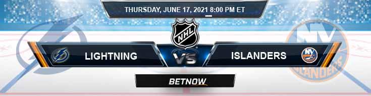 Tampa Bay Lightning vs New York Islanders 06-17-2021 NHL Previews Odds & Spread