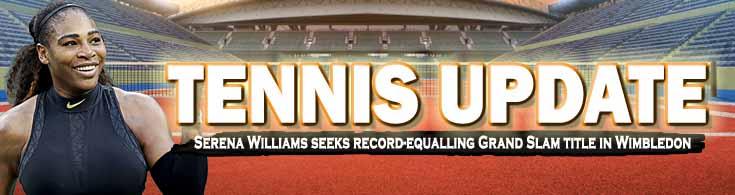 Tennis Update Serena Williams Seeks Record-equalling Grand Slam Title in Wimbledon