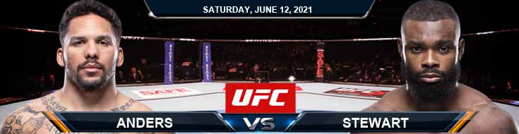 UFC 263 Anders vs Stewart 06-12-2021 Odds Picks and Predictions
