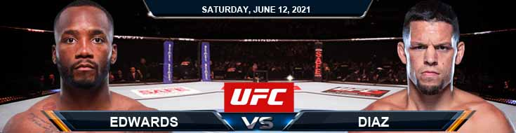 UFC 263 Edwards vs Diaz 06-12-2021 Forecast Tips and Results