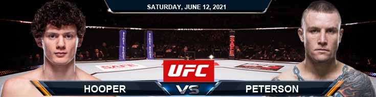 UFC 263 Hooper vs Peterson 06-12-2021 Fight Analysis Forecast and Tips
