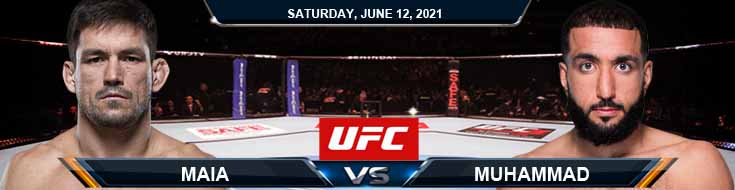 UFC 263 Maia vs Muhammad 06-12-2021 Tips Results and Analysis