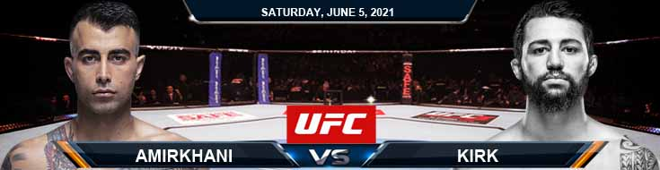 UFC Fight Night 189 Amirkhani vs Kirk 06-05-2021 Forecast Tips and Results