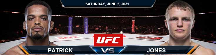 UFC Fight Night 189 Patrick vs Jones 06-05-2021 Odds Picks and Predictions