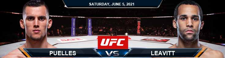 UFC Fight Night 189 Puelles vs Leavitt 06-05-2021 Previews Spread and Fight Analysis