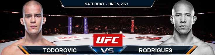UFC Fight Night 189: Todorovic vs Rodrigues 06/05/2021 Fight Analysis, Forecast and Tips