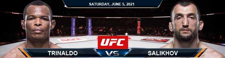 UFC Fight Night 189 Trinaldo vs Salikhov 06-05-2021 Results Analysis and Odds