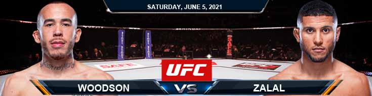 UFC Fight Night 189 Woodson vs Zalal 06-05-2021 Predictions Previews and Spread