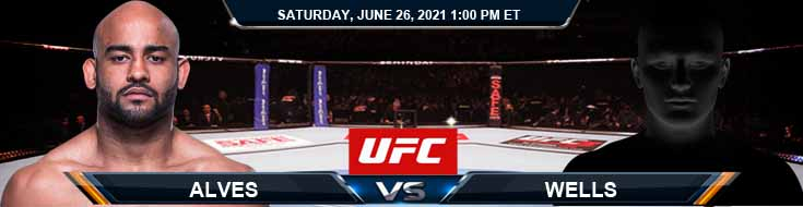 UFC Fight Night 190 Alves vs Wells 06-26-2021 Results Analysis and Odds