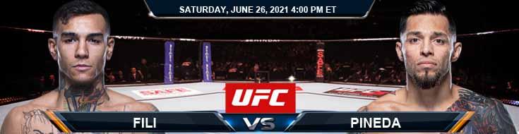 UFC Fight Night 190 Fili vs Pineda 06-26-2021 Fight Analysis Forecast and Tips