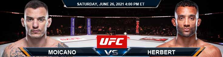 UFC Fight Night 190 Moicano vs Herbert 06-26-2021 Fight Analysis Forecast and Tips