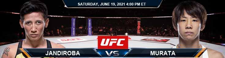 UFC on ESPN 25 Jandiroba vs Murata 06-19-2021 Spread Fight Analysis and Forecast