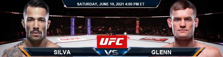 UFC on ESPN 25 Silva vs Glenn 06-19-2021 Tips Results and Analysis