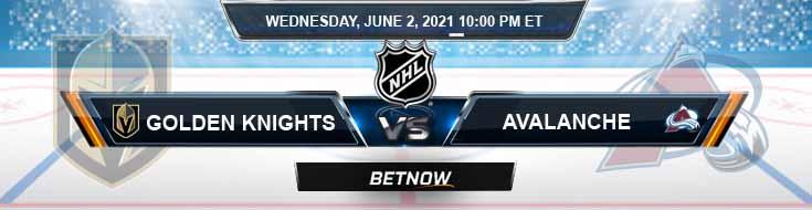 Vegas Golden Knights vs Colorado Avalanche 06-02-2021 NHL Predictions Spread & Picks