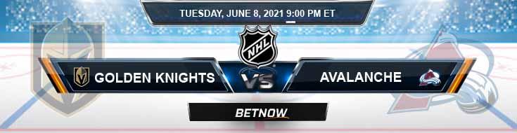 Vegas Golden Knights vs Colorado Avalanche 06-08-2021 NHL Results Picks & Previews